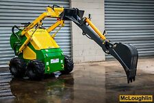 McLoughlin Backhoe Attachment  For Mini Loader, Also Fits Dingo Kanga Toro etc