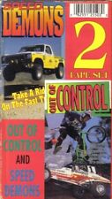 VHS:  2-VIDEO SPEED DEMONS & OUT OF CONTROL