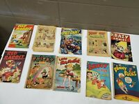 Poor Condition Golden Age Comic Lot of 11 (dd) (bb27)