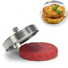 Tools Cooking Meat Patties Mold Hamburger Presses Stainless Steel Burger Maker Z