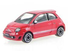 Fiat 500 Abarth red diecast model car 30199 Bburago 1/43