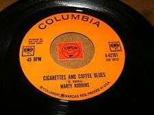 MARTY ROBBINS - CIGARETTES AND COFFEE BLUES - TEENAGER'S - LISTEN - ROCK POPCORN