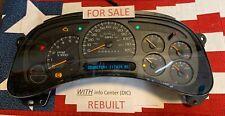 2006-07 REBUILT 117k GM Silverado Instrument Gauge Cluster Sierra Tahoe Yukon 05