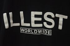 Genuine Illest Worldwide Short Sleeve T-Shirt Size Large Made in USA!