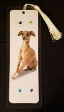 """I Love My Dog"" Bookmark - Hand Made - Choose Breed (H - Z) - 5 ml - 8"" x 3"""