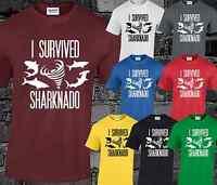 Sharknado Funny T Shirt Fashion Tv Sci Fi Top Film Top