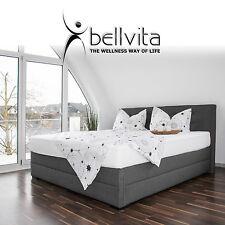 bellvita Boxspring Wasserbett BOXSPRINGBETT-Optik DUAL & Kopfteil, mit AUFBAU