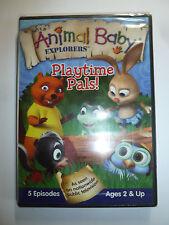 Wild Animal Baby Explorers: Playtime Pals DVD PBS Kids TV show nature cute NEW!