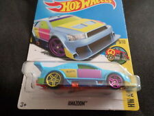HW HOT WHEELS 2017 HW ART CARS #9/10 AMAZOOM BLUE HOTWHEELS VHTF