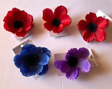 Set Of 5 Ashland Floral Accent Clips.