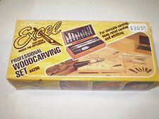 EXCEL 44290 PROFESSIONAL WOODCARVING SET  NIP  NEW