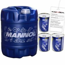 1x20 Liter MANNOL 7707 5W-30 Ford Volvo OEM 5W30 Motoröl ÖL 4x Motor Flush