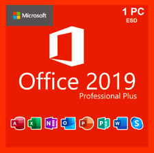 ⭐MICROSOFT®OFFICE 2019 PROFESSIONAL PLUS 32/64 BIT 1 PC KEY⭐TRUSTED⭐
