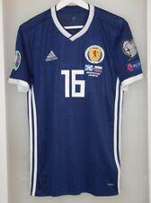 Match worn shirt Scotland national team Euro 2020 England Norwich Aberdeen