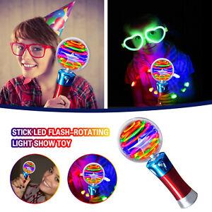 Children's Luminous Magic Ball Toy Stick LED Flash-Rotating Light Show Toy CH
