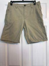 Aeropostale Men's 33 Khaki Oatmeal Bermuda Shorts