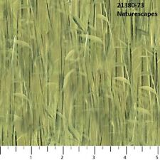 Naturescapes Quilt fabric Cotton by Northcott 21380-73 Green Grass