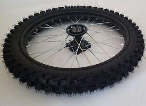 "Roue Complète 17 "" Avant Pour Dirt Bike Axe ø12mm - Dirtbike Pitbike Crossbike"