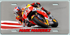 MARC MARQUEZ ART  GP MOTOCYCLE RACING YAMAHA License Plate  Made in USA