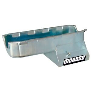 Moroso 20195 Oil Pan Stroker; 7 Quart Capacity; 8.25 deep For SBC NEW