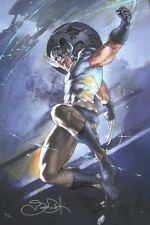 SIMONE BIANCHI giclee CANVAS Wolverine SIGNED stretched HFA EXCLUSIVE with COA