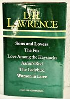 6 works of D.H. Lawrence in 1 volume: Sons and Lovers / The Fox / Aaron's Rod+++