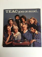 TEAC Goes on Record about Tape Recording 45 Promo 1977