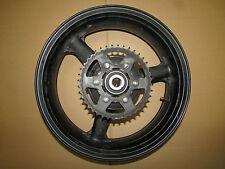 Zx 6 r zx 636 B 2003-2004 roue arrière jante roue wheel rim r-1412 Chaînes Feuille porteur