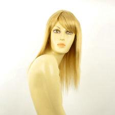 Perruque femme mi-longue blond clair doré RAPHAELLA LG26