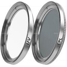37mm UV Filter & Polfilter CPL Filter Green.L für 37 mm Einschraubanschluss