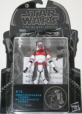 "Star Wars 3.75"" Black Series Figure - #15 Commander Thorn - Hasbro Original NEW"
