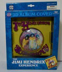 McFarlane Toys Pop Culture Jimi Hendrix 3D Album Yellow Cover Art