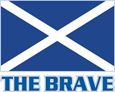 PREMIUM Aufkleber Schottland the brave Autoaufkleber Auto Motorrad car Sticker