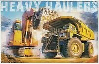 2008 AUSTRALIA STAMP PACK 'HEAVY HAULERS' WITH SE-TENANT OF STRIP 5 x 50c MNH