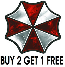 "3"" UMBRELLA CORPORATION Logo Decal Sticker Resident Evil Gas Tank Door"