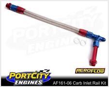 Aeroflow Carb Inlet Rail Kit Barry Grant Demon Dual Fuel Line -6AN AF161-06