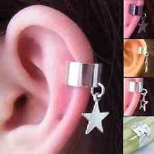 Ohrklemme Stern Blogger Ohrring Gothic Statement Sterne Ohrringe Star ear cuff