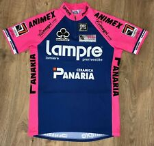 Lampre Panaria Colnago SMS Santini vintage cycling jersey size XL