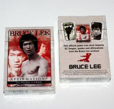 BRUCE LEE JUN FAN Jeet Kune Do Martial Arts Actor SINGLE DECK PLAYING CARD New