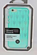New Incipio DualPro Design Series Case For Apple iPhone 6/6S Teal Arrow Blue