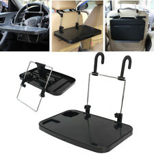 Car Laptop Desk Computer Steering Wheel Work Table Foldable Cup Holder Stand