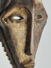 Beau Masque zoomorphe circoncision BEMBE CONGO Mask African Tribal Art Africain