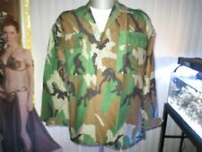 2007 LIBYIAN ARMY WOODLAND PATTERN CAMO SHIRT AND PANTS SET