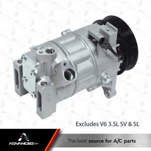 AC A/C Compressor Fits: 2013 - 2017 Nissan Altima S, SR, Exclusive V6 3.5L