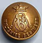 The Wiltshire Regiment Brass 25mm Tunic Button by Hobson & Sons London Ltd. B001