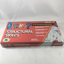 Quizmo Structural Skills Educational Bingo Game Ages 10-13 Learning Advantage