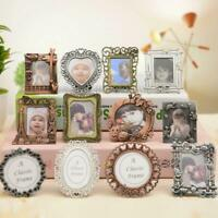 Creative Retro Mini Metal Photo Frame Key Chain Key Ring Charms Pendant Gift Bes