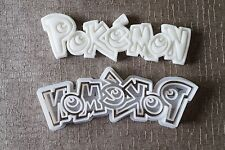 3D Pokemon logotipo Cookie Cutter Ideal Para Fondant, Pasta Cake Toppers