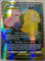 Pokemon card Slowpoke & Psyduck GX 218/236 Unified Minds HOLO PROXY CARD