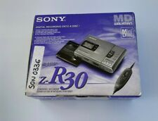 SONY MZ-R30 Walkman - MiniDisc Digital Recording - Metal